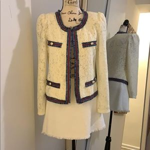 Zara Skirt and Gracia Lace Jacket Set Size S